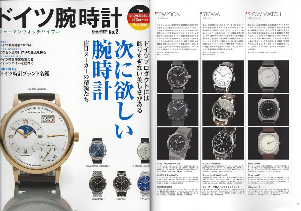 SLOW SULLA STAMPA - slow watches